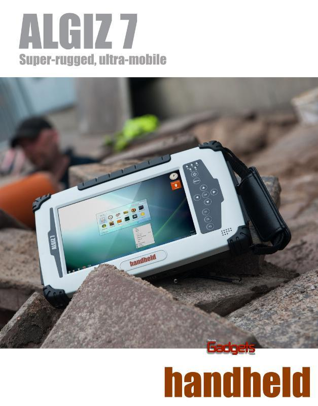 HANDHELD RELEASES A NEW VERSION OF ITS ALGIZ 7 OUTDOOR-RUGGED TABLET