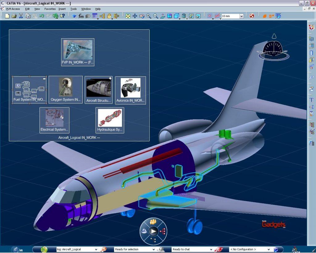 AeronavediseñadaconCATIA V6deDassaultSystèmes
