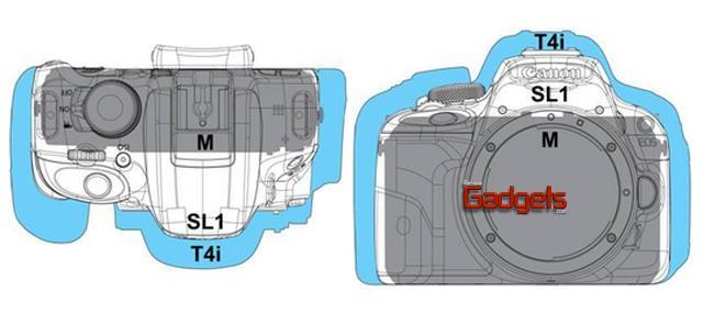 SLR EOS Rebel SL1