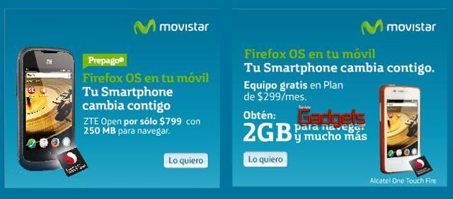 Firefox OS Movistar