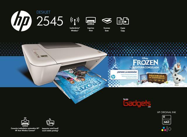 Bundle HP Frozen + IA 2545 - Empaque