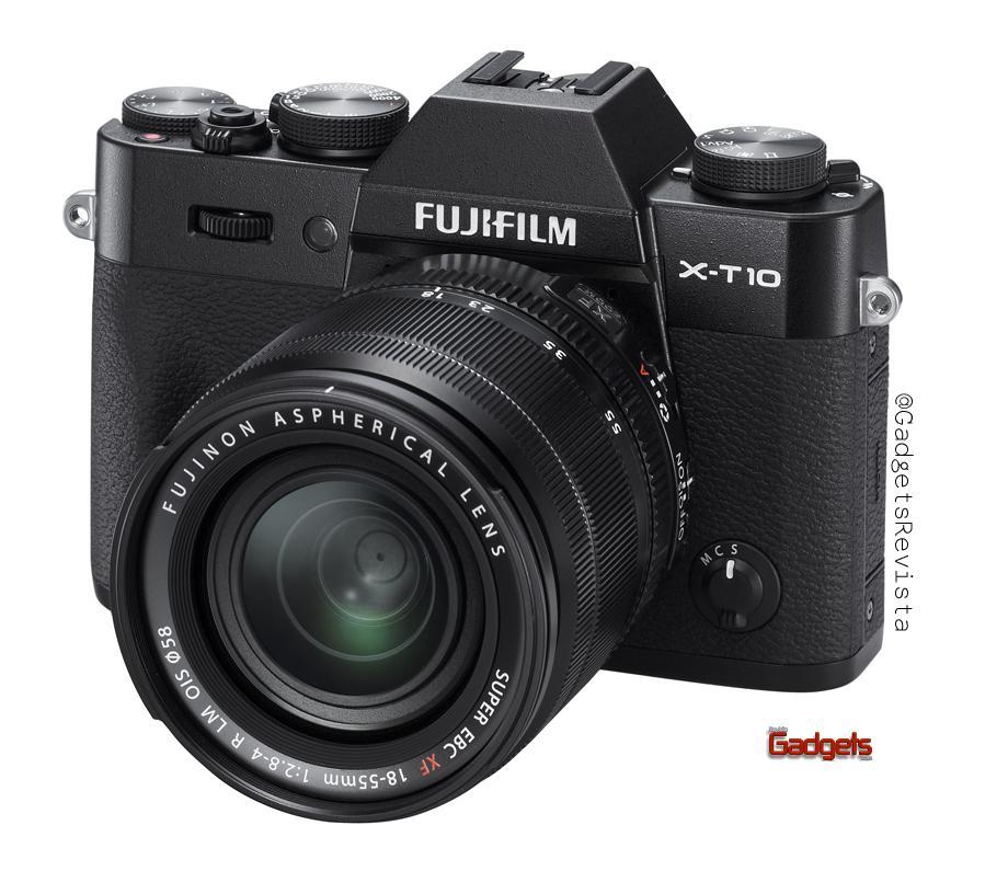 X-T10_leftside black18-55mm