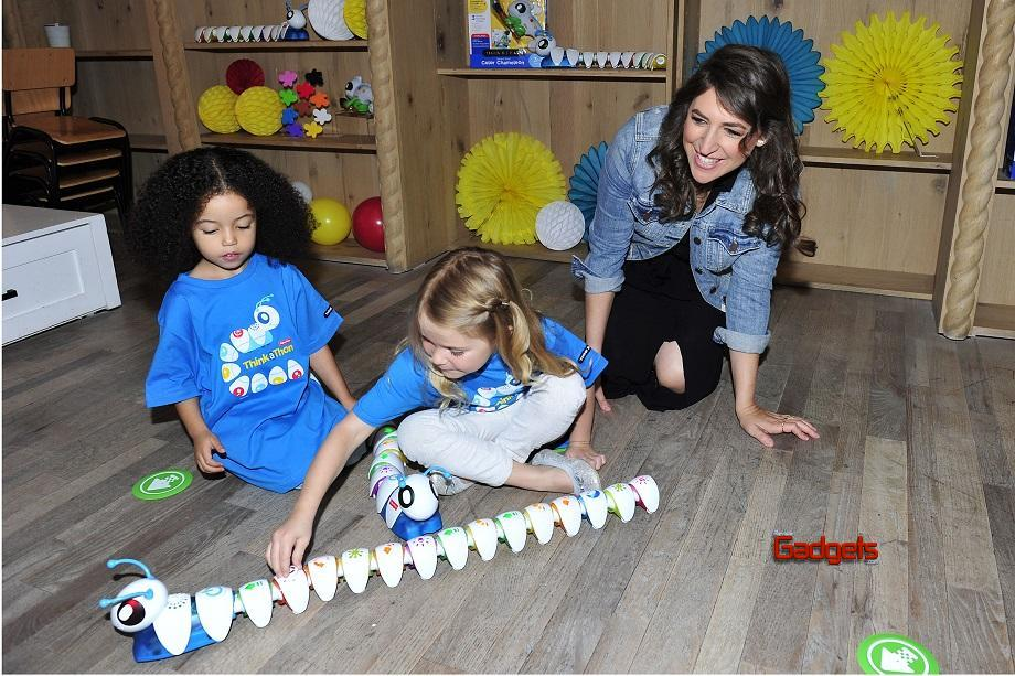 - Los Angeles, CA - 09/26/2016 - Mayim Bialik introduces little learners to the Think & Learn Code-a-pillar/Smart Scan Chameleon at the Fisher-Price Think-a-Thon event in Los Angeles.  The Think-and-Learn line encourages critical thinking skills that preschoolers need for the future, through active play. -PICTURED: Mayim Bialik -PHOTO by: Michael Simon/startraksphoto.com -MS343470 Editorial - Rights Managed Image - Please contact www.startraksphoto.com for licensing fee Startraks Photo Startraks Photo New York, NY  For licensing please call 212-414-9464 or email sales@startraksphoto.com Image may not be published in any way that is or might be deemed defamatory, libelous, pornographic, or obscene. Please consult our sales department for any clarification or question you may have Startraks Photo reserves the right to pursue unauthorized users of this image. If you violate our intellectual property you may be liable for actual damages, loss of income, and profits you derive from the use of this image, and where appropriate, the cost of collection and/or statutory damages.